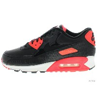 【US10.5】NIKE AIR MAX 90 ANNIVERSARY 725235-006 black/black-infrared-white エアマックス 未使用品【中古】