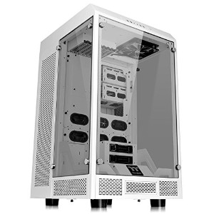 Thermaltake TT Premium The Tower 900 Snow Edition フルタワーPCケース 3面強化ガラス CS6789 CA-1H1-00F6WN-00