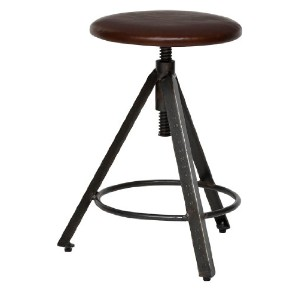 journal standard Furniture CHINON STOOL LEATHER