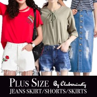 Denim Shorts | Denim Skirt | S-2XL