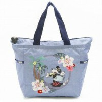 LeSportsac レスポートサック 8014-P939 PICTURE TOTE ディズニー バッグ SING AND SWAY BLUE【f】【新品/未使用/正規品】