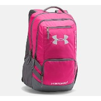 Under Armour Storm Hustle II Backpack メンズ Tropic Pink/Graphite バックパック リュックサック アンダーアーマー