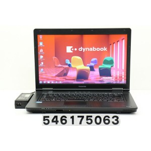 東芝 dynabook Satellite B552/H Core i7 3540M 3GHz/4GB/500GB/DVD/15.6W/FWXGA(1366x768)/Win7【中古】...