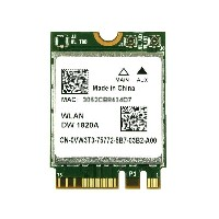 BCM94350ZAE BCM4350 Dell Wireless 1820A (DW1820A) 867Mbps 2.4/5GHz 802.11a/b/g/n/ac WLAN +...