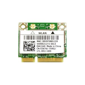 Dell Wireless WLAN 1540 DW1540 内蔵ワイヤレスLAN Half-Miniカード (300Mbps 802.11a/b/g/n対応) BCM943228HM4L...