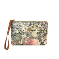 Oilily (オイリリー) ポーチ Diamond Flowers Micro Pouch Silver OCB5530-909