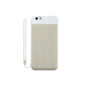 Simplism iPhone 6/6s [BackPack] Wカードケース ホワイト TR-DCIP154-WT