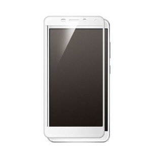 Deff Hybrid 3D Glass Screen Protector for ZenFone3 Laser (ZC551KL) White DG-ZC551G2FWH