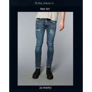 """【NudieJeans""""TapeTed""""24.Months/L30】【ヌーディージーンズ""""テープテッド""""24ヶ月】"""