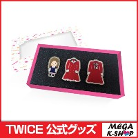 【即日発送】TWICE BADGE SET[TWICE LAND THE OPENING ENCORE MD][JYP][公式グッズ]