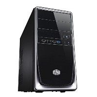 CoolerMaster ミニタワーMicro-ATX PCケース Elite 344 Silver (型番:RC-344-SKN2-JP)