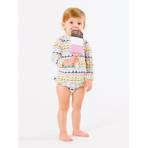 【50%OFF】Giggle Squiggle プリント ビーチトップ&パンツ セット n/a 18-24m ベビー用品 > 衣服~~ベビー服