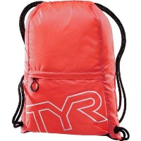 TYR(ティア) プールバッグ DRAWSTRING SACK PACK LPSO2 レッド FREE