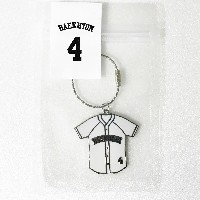 SM TOWN EXO Planet #3 The EXOrDIUM[dot] in Seoul Baseball Uniform Key Holder