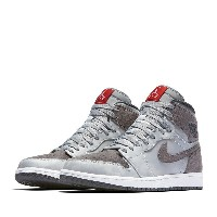 NIKE AIR JORDAN 1 RETRO HIGH PREM (ナイキ エア ジョーダン 1 レトロ ハイ プレミアム) WOLF GREY/DARK GREY-WHITE-UNIVERSITY...
