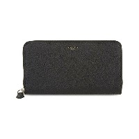 ジバンシー givenchy メンズ アクセサリー 財布【grained leather zip-around wallet】Black