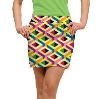 LoudMouth Ladies Block Party Skort【ゴルフ レディース>スコート】