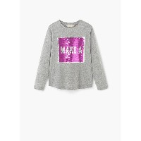【SALE 30%OFF】T-シャツ . LATER (ミディアムピンク) MANGO