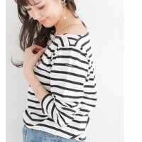 ROSSO Le Minor 別注ボートネックボーダーカットソー【アーバンリサーチ/URBAN RESEARCH Tシャツ・カットソー】