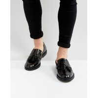 house of hounds dexie leather レザー tassle loafers in black 黒 ブラック 靴 メンズ靴