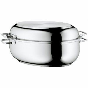 【WMF Stainless Steel Deep Oval Roasting Pan 16-1/4-Inch by WMF】 b0091ntvw0