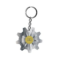 Fallout 4 キーホルダー Keychain Vault 111 PS4 Xbox 公式 新しい metal