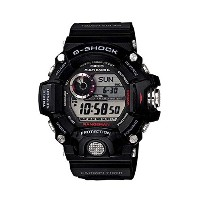 腕時計 カシオ Casio Men's GW-9400-1CR Master of G Digital Display Quartz Black Watch【並行輸入品】