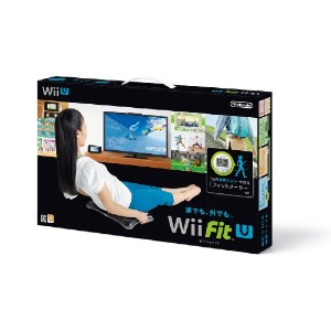 Wii Fit U バランスWiiボード (クロ) + フィットメーター (ミドリ) セット