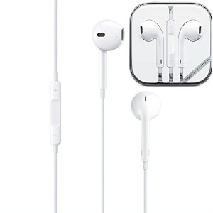 Earphones with Remote and Mic (iPod・iPhone用イヤホン) スマホ 多機種対応 新型 イヤホン リモコン付き マイク付き (ホワイト) MX56/A