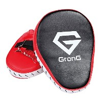 GronG(グロング) パンチングミット ボクシング ミット 左右セット 湾曲型