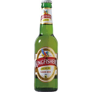 KINGFISHER BEER(キングフィッシャー) ビール 330ml瓶×24本セット
