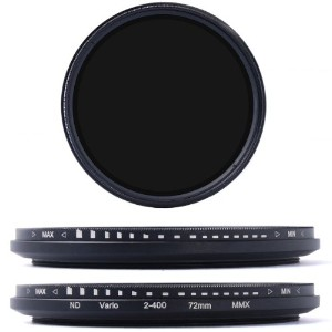 XCSOURCE 減光フィルター 72mm 可変式NDフィルター ND2 ND4 ND16 ND400 CANON NIKON PENTAX用 LF027