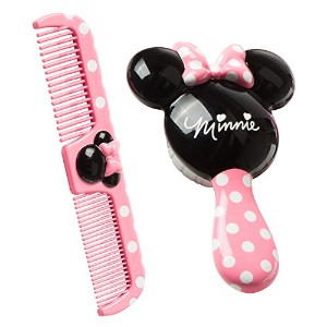 Disney Minnie Brush and Comb Set by Disney [並行輸入品]