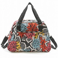 LeSportsac レスポートサック ボストンバッグ 8109 Abbey Carry-On D591 CARAWAY FLORAL [並行輸入商品]