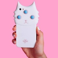 VALFRE in LA BLANCO 3D IPHONE CASE 三つ目の白猫iphone5/5Sケース
