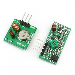 ReFaXi Arduino 433MHZ頻度無線受信モジュール  RF Wireless Transmitter and Receiver Link Kit Module 433Mhz for...