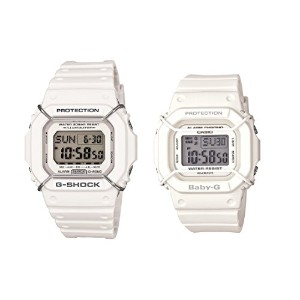 CASIO G-SHOCK/BABY-G ペアウォッチ DW-D5600P-7JF&BGD-501-7JF