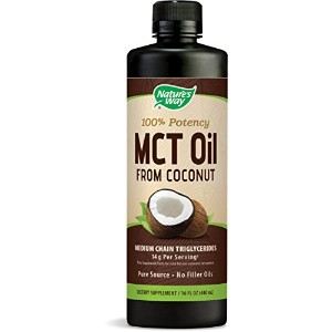 MCT Oil From Coconut 16 fl oz (474 ml) 海外直送品