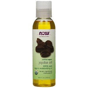 海外直送品 Now Foods ORGANIC JOJOBA OIL, 4 OZ