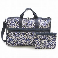 LeSportsac レスポートサック ボストンバッグ 7185 LARGE WEEKENDER D716 Blooming Silhouettes [並行輸入商品]