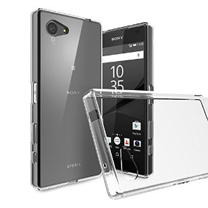 [WOEXET] Sony ソニー Xperia Z5 Compact専用ケース 超薄 高透明度 手触り良い 指紋防止 滑り防止 携帯便利 ソフトケース クリア