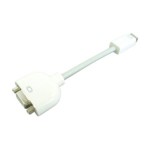 Apple Mini DVI-VGA 互換変換アダプタ iMac MacBook