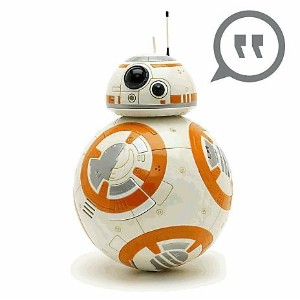 BB-8 Talking figure 24cm awakening BB-8 Talking Figure of Star Wars Force - 9 1/2 '' - Star Wars ...