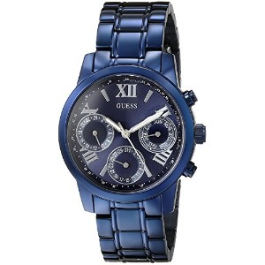 ゲス GUESS Women's U0448L5 Iconic Blue Multi-Function Watch [並行輸入品]