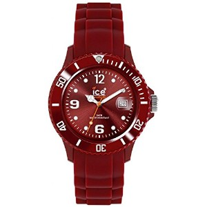Ice-Watch Ice-Winter Sili Collection Polyamide and Silicone Deep Red Mens Watch SW.DR.B.S.11