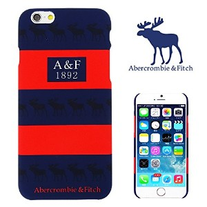 【 Abercrombie&Fitch 】 iPhone6用ケース(4.7インチ) アバクロンビー&フィッチ ロゴ a&f-003 [並行輸入品]