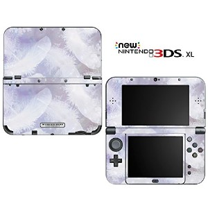 new3DSLL 【スキンシール】 New ニンテンドー 3DS LL /BZ16/Crystal Feathers