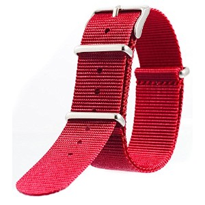 [EMPIRE] NATO STRAP NYLON (バーガンディ, 18mm)