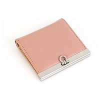 TWO STO French Billfold Wallet、フレンチ反財布、女性らしい反財布、小さい財布、ケース 【並行輸入品】 (インディーピンク)