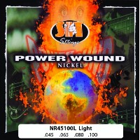 SIT -エスアイティー- ベース弦 POWER WOUND -Nickel Round Wound -Fusion Wound LIGHT 045-100 x 1セット NR45100L